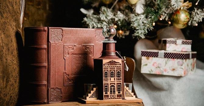 Мини-бар в форме книги будет элегантным подарком мужчине