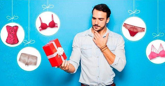 Нижнее белье в подарок девушке