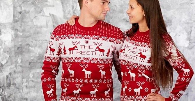 Одинаковые свитера, как объединяющий подарок девушке