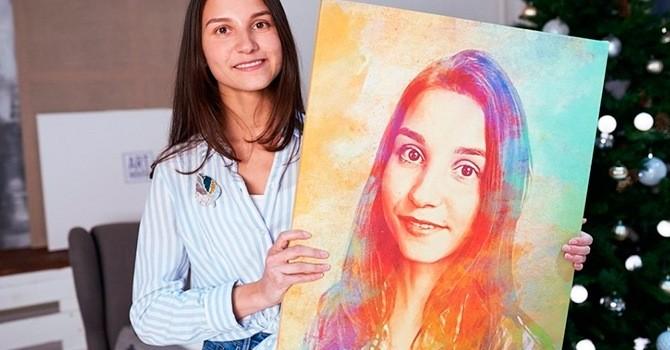 Портрет, замечательный подарок для девушки