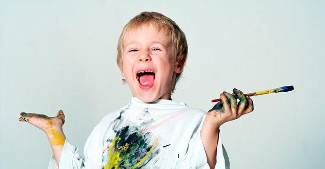 Ребенок-сангвиник чрезвычайно любопытный и активный