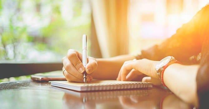 Сформируйте привычку все записывать в дневник