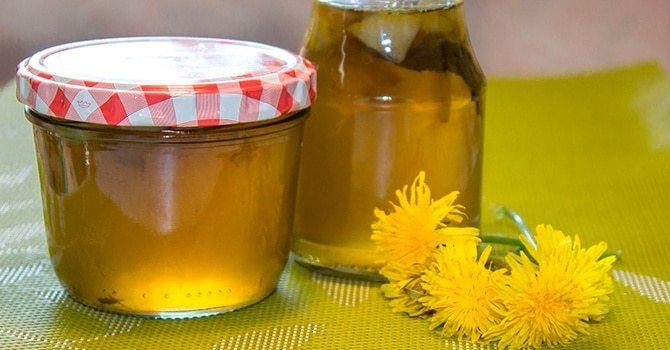 Варенье или мед из одуванчика