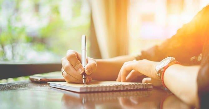 Записывай свои мысли, чтобы упорядочить их
