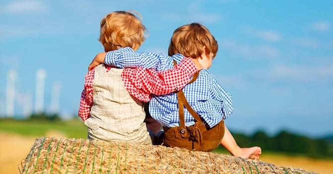 Детская дружба нерушима