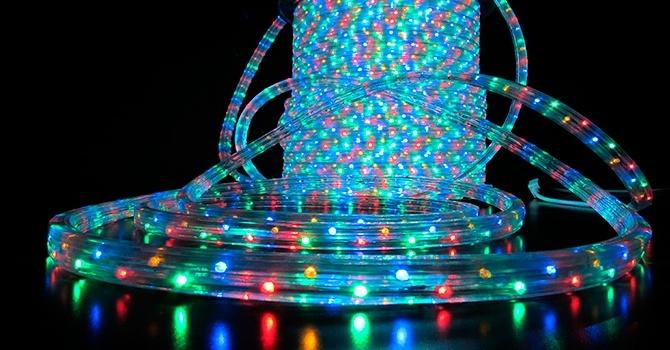 Дюралайт – светодиодная гирлянда