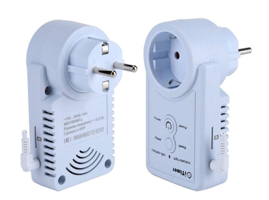 Розетка GSM-терморегулятор