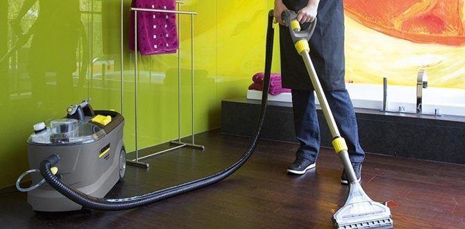 Как выбрать моющий пылесос правильно