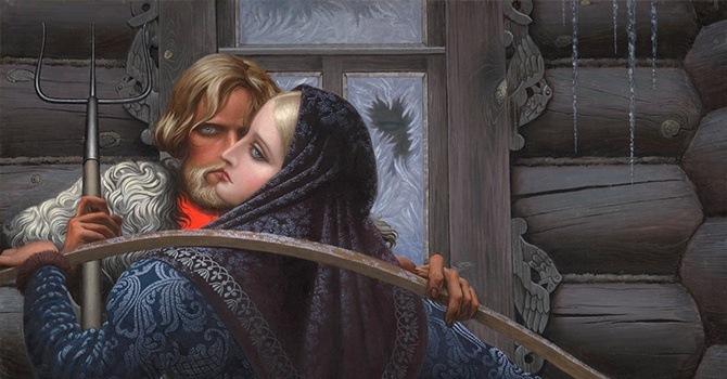 Если вы боитесь темноты, не весьте на стену картины Константина Васильева