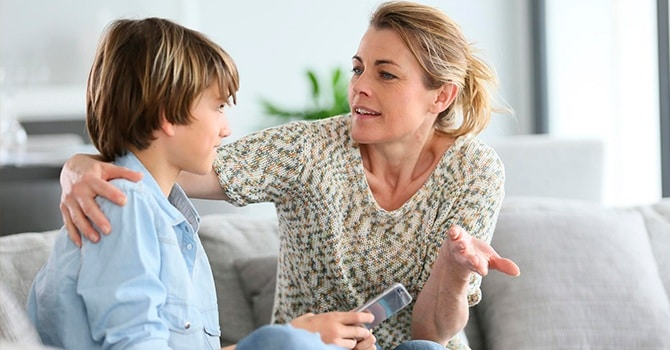 Разговор с сыном