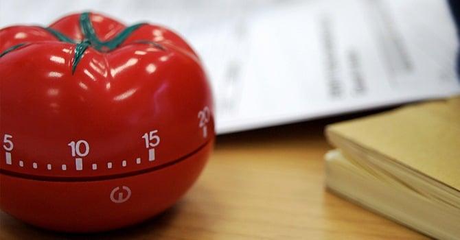 Кухонный таймер в виде помидора