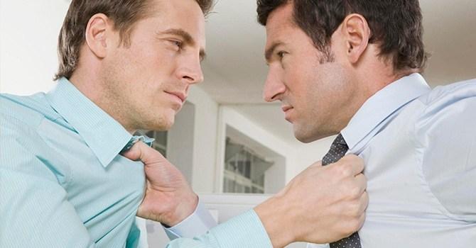 Настоящий мужской спор