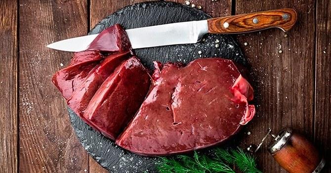 Польза и вред говяжьей печени, пищевая ценность и калорийность