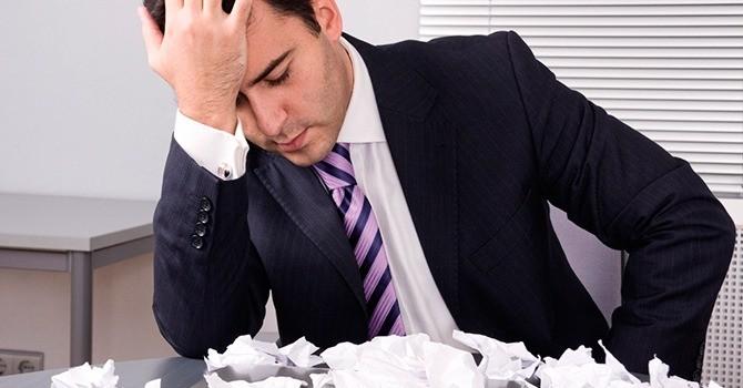 Провал в бизнесе требует принятия нового решения