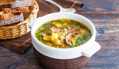 Рассольник с грибами - как готовить ароматный суп