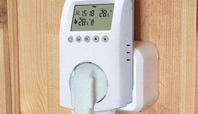 Розетка с терморегулятором для обогревательных приборов
