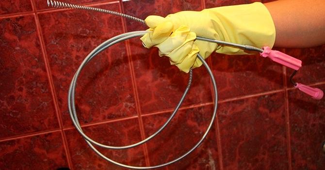 Сантехнический трос для устранения засоров