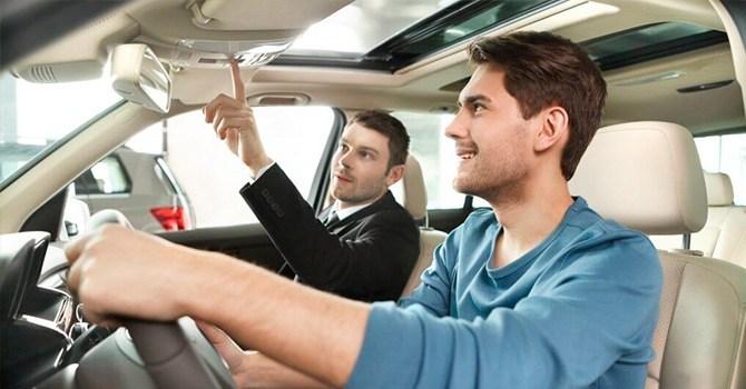 Тест-драйв автомобиля обязателен