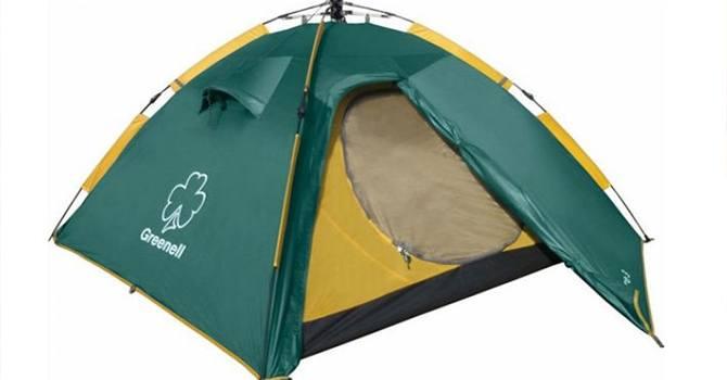 Палатка туристическая GREENELL Клер 3