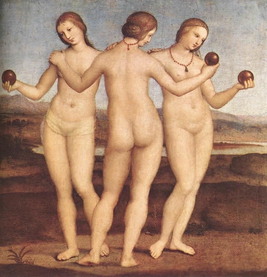 """""""Неприличная"""" картина эпохи Возрождения"""