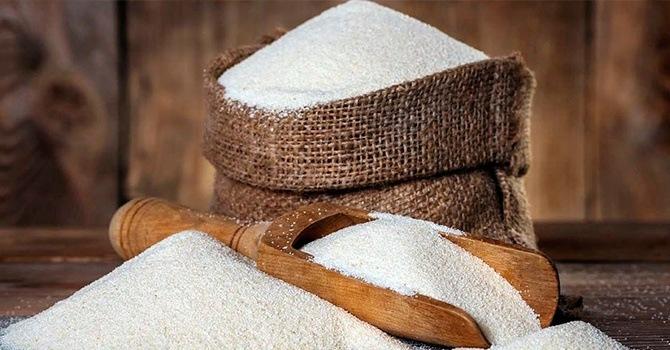 Манная крупа производится из пшеницы