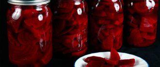 Маринованная свекла по простому рецепту