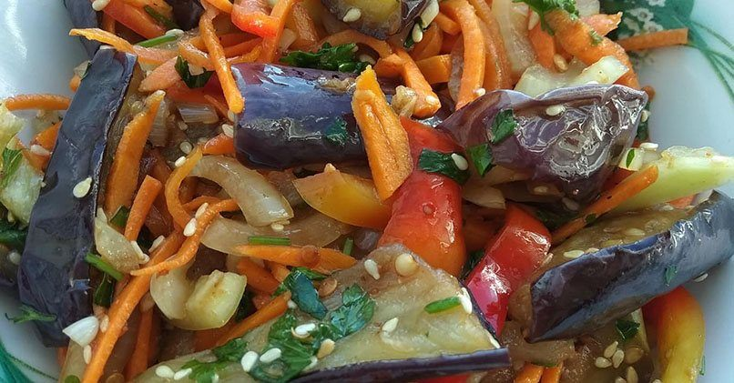 Самый вкусный рецепт маринованных баклажанов