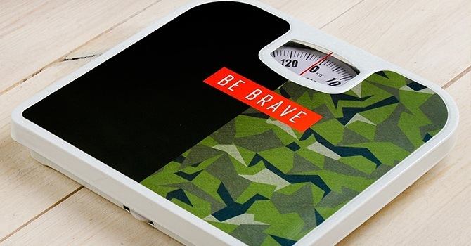 Напольные весы с механическим устройством