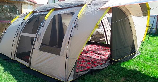 Полубочка – кемпинговая палатка