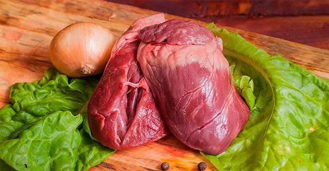 Свиное сердце – самый диетический из субпродуктов
