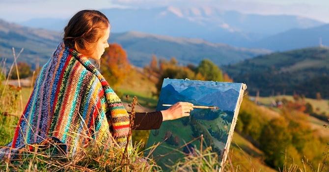 Творчество помогает справиться с экзистенциальным кризисом