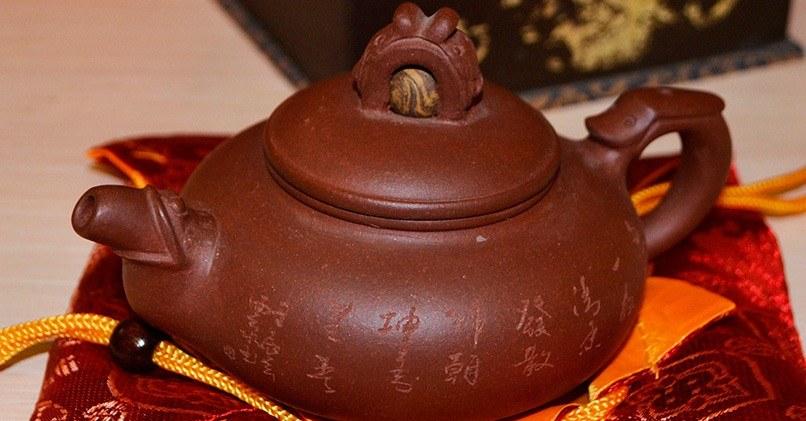 Заварочный чайник из исинской глины