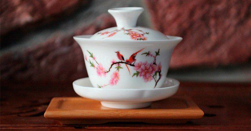Специальная китайская посуда гайвань