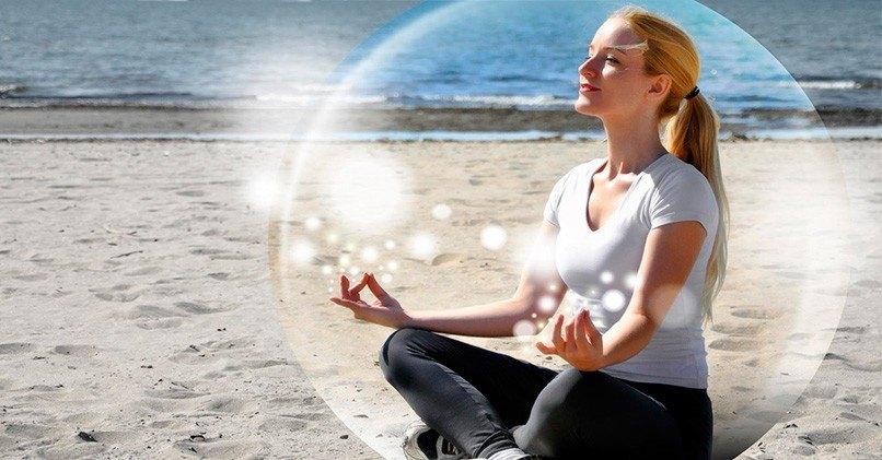 Медитация помогает успокоиться