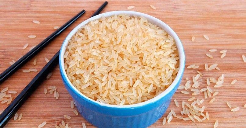 Зерна пропаренного риса