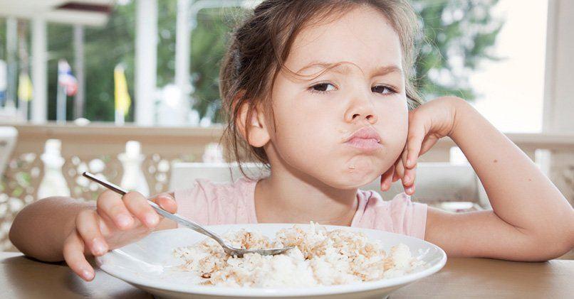 Рис рекомендуют включать в детское меню