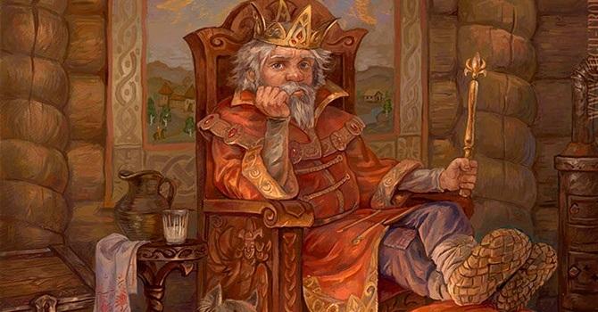 Царь Горох из сказки