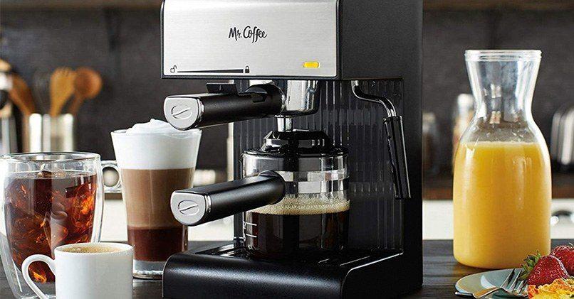Бытовая кофемашина с копучинатором
