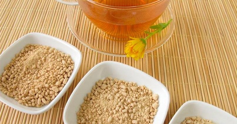 Экстрагированный гранулированный чай