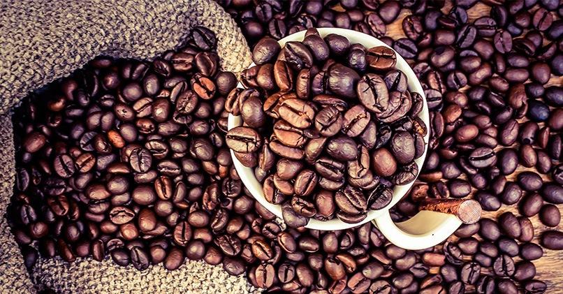 Кофейные жареные зерна