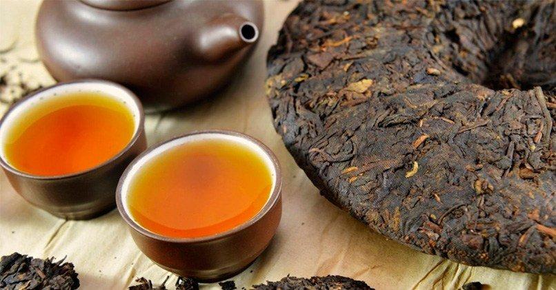 Прессованные чайные листья для длительного хранения