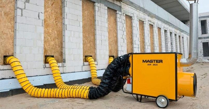 Эта система обогрева применяется в случае сложной конфигурации здания