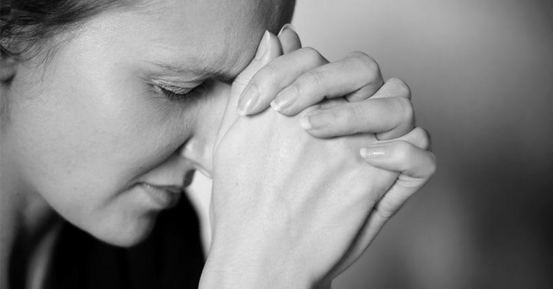 Беспричинная тревога женщины