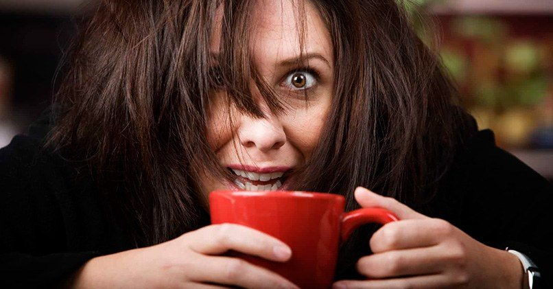 Чрезмерное потребление кофе вредно для организма