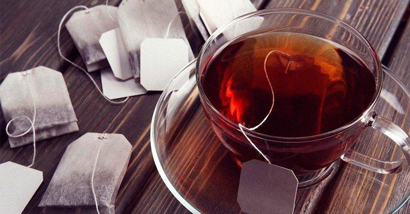 Заварка чая в пакетиках