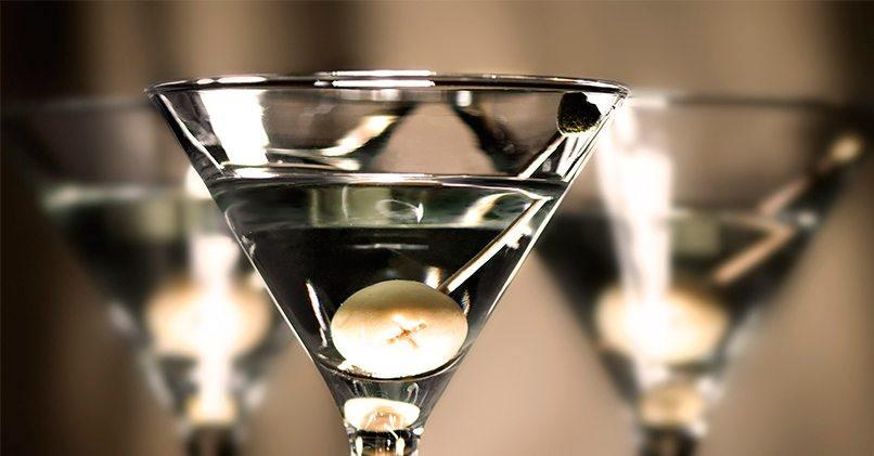 007 – сухой мартини с водкой