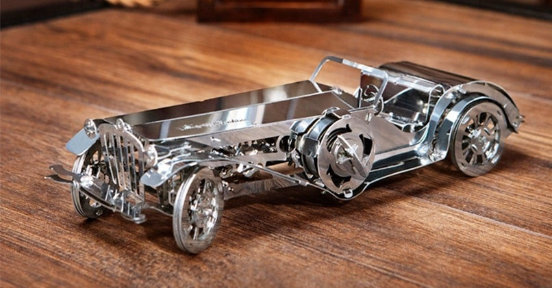 3D-паззл из металла
