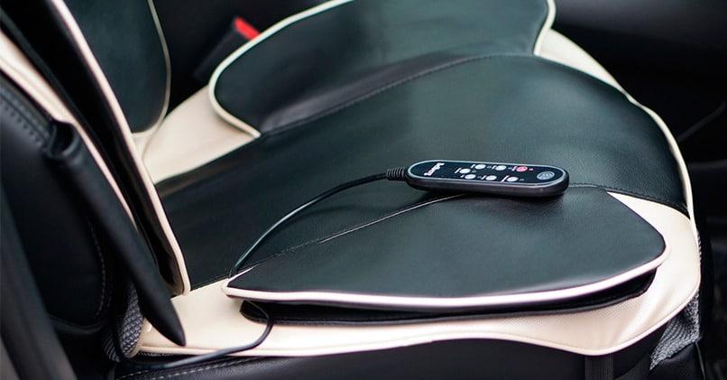 Массажная накидка на кресло автомобиля