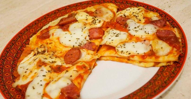 Блинная пицца