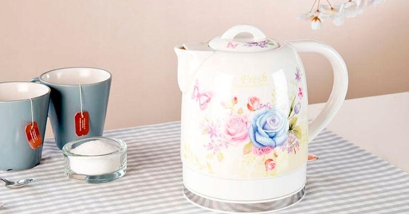 Керамический электрический чайник